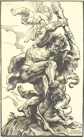 hercules fighting fury and discord by sir peter paul rubens & christoffel jegher
