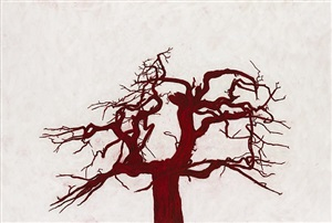 untitled (tree number 5) (pc125) by tony bevan