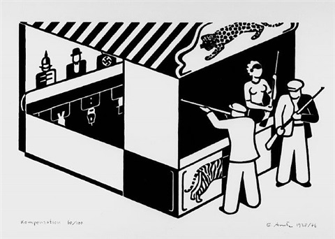 kompensation by gerd arntz