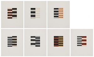 seven mirrors (sieben spiegel) by sean scully