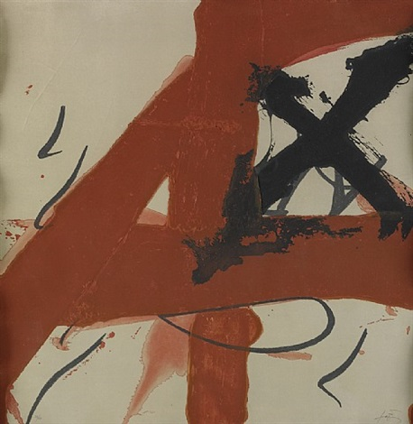 a 4 by antoni tàpies