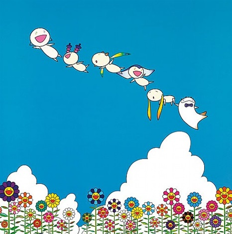 planet 66 – summer vacation by takashi murakami