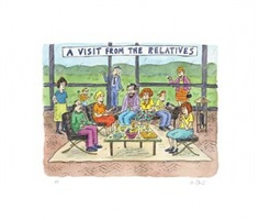 a visit from the relatives, 2013 by roz chast