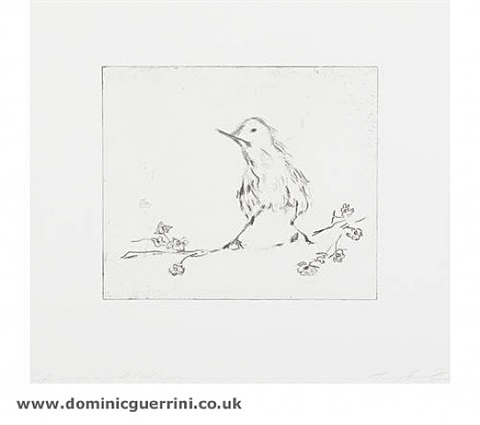 self portrait as a small bird by tracey emin