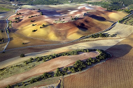 emmet gowin landscapes andalucia by emmet gowin