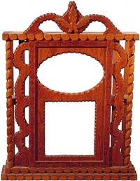 clock box ii by howard finster