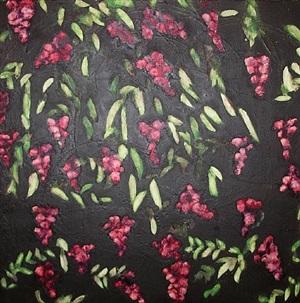 wisteria by donald sultan