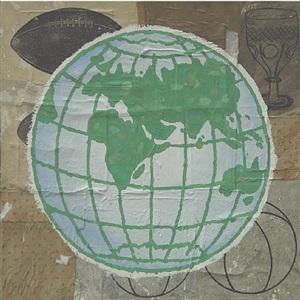 globe by donald baechler