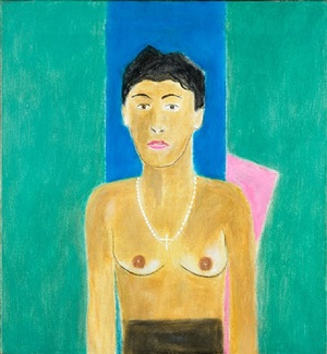 portrait of margo by craigie aitchison