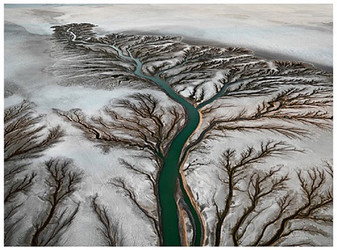 colorado river delta #2, near san felipe by edward burtynsky
