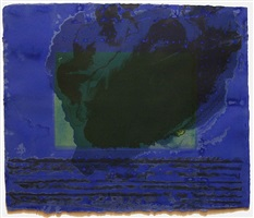 a storm by howard hodgkin