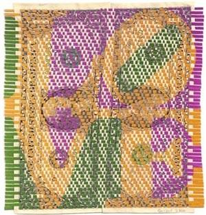 $2 love (green, pink, orange) by oriane stender