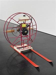 motor mit propeller by roman signer