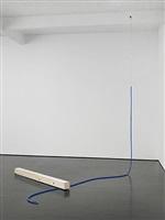 blauer schlauch by roman signer