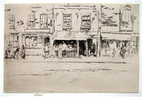 fish shop, chelsea by james abbott mcneill whistler