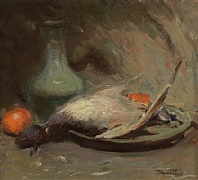 still life after harnett by theresa ferber bernstein