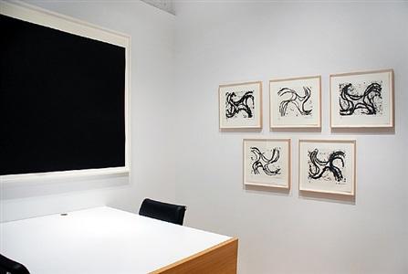 richard serra: selected works installation view by richard serra