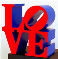 love (red/violet) by robert indiana