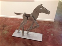 silver horse 39 by jorge blanco