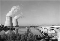 nuclear power station, belleville-sur-loire, nevers by john davies