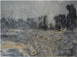 melting snow at l'estaque—to cezanne no.1 by qi lan
