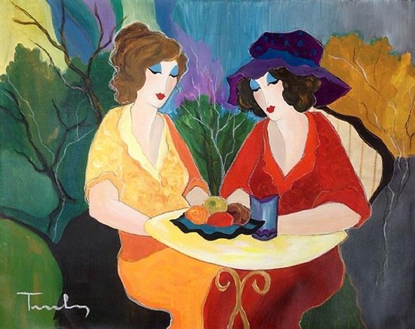 chatting ladies
