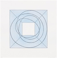 framed square with open center b by robert mangold