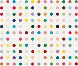 hydroquinone by damien hirst