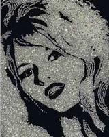 brigitte bardot (from the diamond series) by vik muniz
