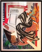 moby dick (from waves ii) by frank stella