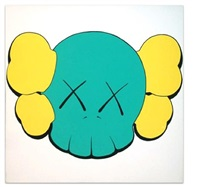 untitled (skull) by kaws