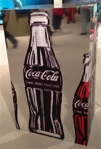 america's favorite moment: cocacola vs jfk, after warhol by alex guofeng cao