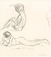 nude studies by henri lebasque