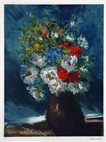 vase de fleurs by maurice de vlaminck