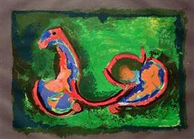 cavallo in armonia (horse in harmony) by marino marini
