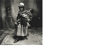 cuzco mother (woman) with high shoes by irving penn
