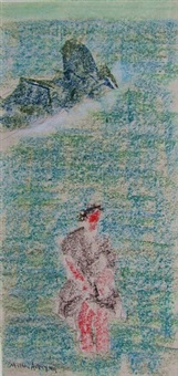 wader by milton avery