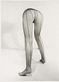 nude in stockings by erwin blumenfeld