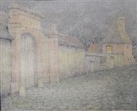 le vieux portail by henri le sidaner
