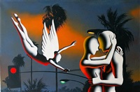 before the storm by mark kostabi