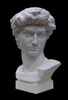 bust of david by li hongbo