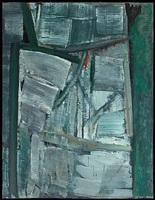 signe personnage gris vert by olivier debré