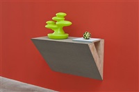 untitled (plant, artichoke) by haim steinbach