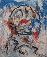 composition no. 6 by karel appel