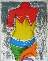the bather by jim dine