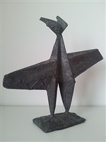 winged figure by lynn chadwick