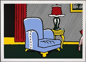 la sortie by roy lichtenstein
