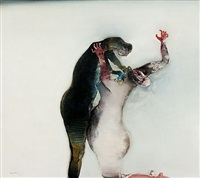 composição humana nº4 by manabu mabe