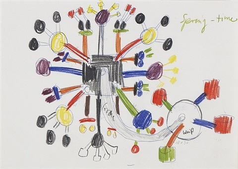 untitled (multiplier) by a.r. penck