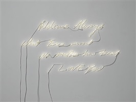 welcome always by tracey emin